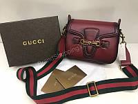 Шикарная женская сумочка Gucci из натуральной кожи люкс копия класса А арт 2001, фото 1