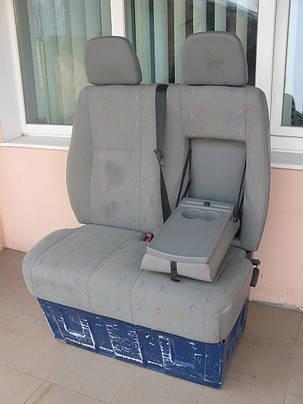 Оригинальное пассажирское двойное сидение на Sprinter, Volkswagen LT, Crafter (Спринтер, Фольксваген ЛТ, Крафт, фото 2