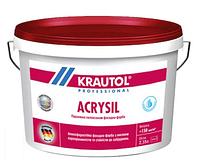 Краска фасадная силикон-модифицированная Krautol Acrysil B3 (2,35л), фото 1