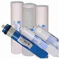 Набор картриджей Aquafilter для фильтра обратного осмоса с минерализатором (6 картриджей)