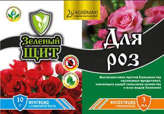 """Зеленый щит """"Для роз"""" 10 г + 3 мл"""
