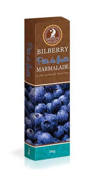 Мармелад Солодкий Світ 192г Patte de Fruits чорниця