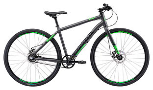 "Велосипед 28"" Apollo TRACE 45 рама - XL matte charcoal/matte black/matte neon green ременная передача"