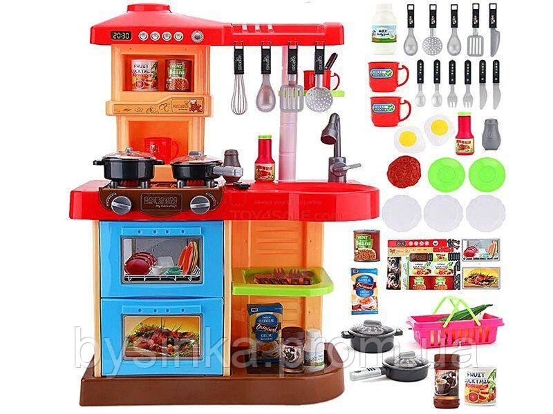 Большая детская кухня марки Doris (красная)