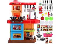Большая детская кухня марки Doris (красная) , фото 1