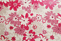 """Обои флизелиновые  """"Сад весёлых цветов"""" в спальню, малиновые, 1 Х 10 – Палитра 3336-51"""