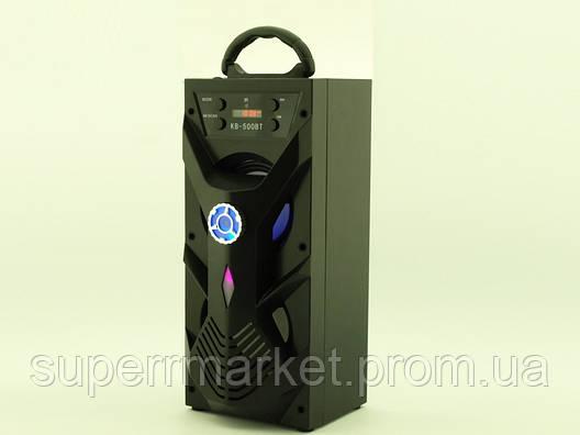 Колонка - чемодан Kipo KB-500BT 10W с караоке FM MP3, фото 2