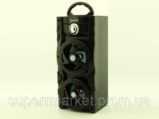 Колонка - чемодан Kipo KB-510BT 10W boombox с караоке FM MP3, фото 2