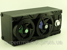 Колонка - чемодан Kipo KB-510BT 10W boombox с караоке FM MP3, фото 3