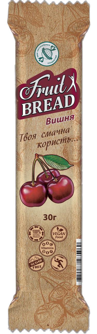 Цукерки Солодкий Світ 30г Фруктовий хліб Вишня