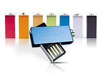 Флешки Cube под нанесение логотипа на 8, 16, 32 Гб лазерная гравировка
