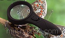 Лупа - 60 0559 (d-60mm) с LED подсветкой