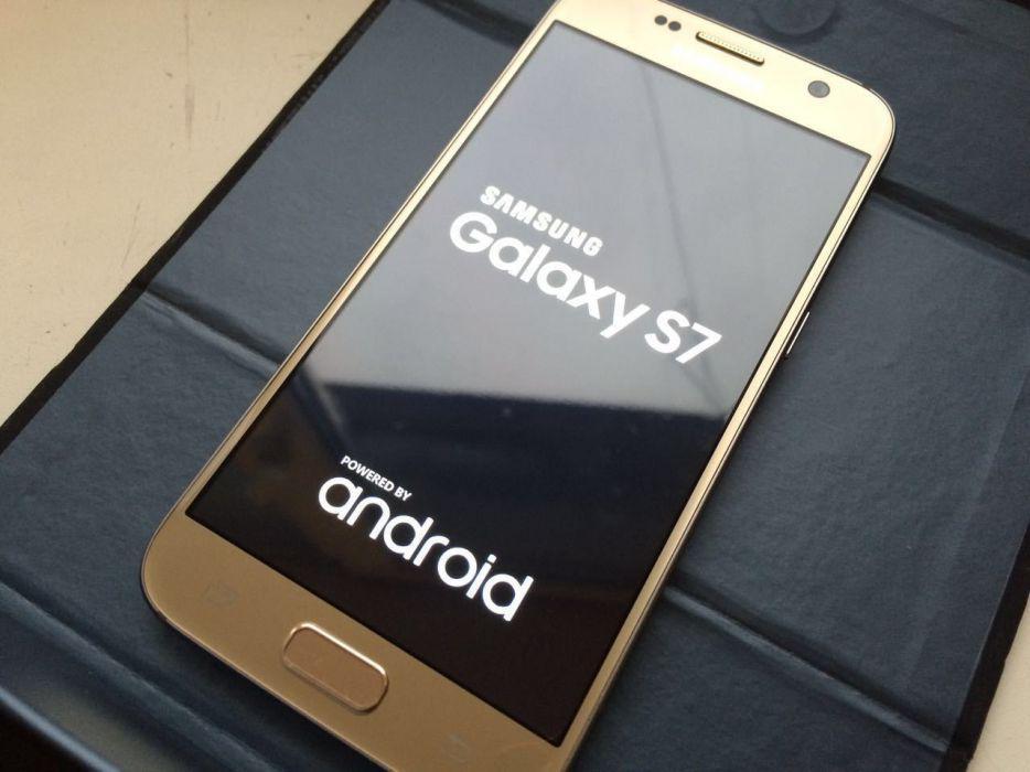 Точная копия Samsung S7 Plus 8 ЯДЕР 64GB  ЗОЛОТО