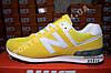 Кроссовки New Balance 574 Yellow Желтый женские реплика, фото 5