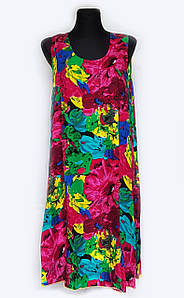 Летнее платье-сарафан, 48-52
