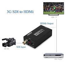 Конвертер сигналов HDMI в SDI видео аудио, HD-SDI, 3G-SDI
