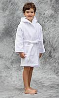 Халат махровый детский Lotus отельный с капюшоном 3-4 года (380 гр/м2) оптом