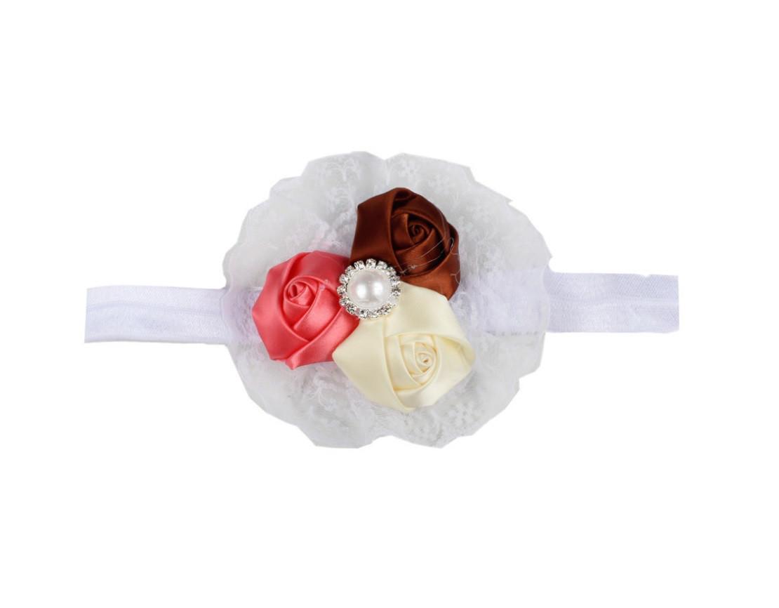Резинка с цветком на голову девочке