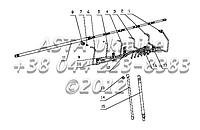Трубопровод системы питания топливом в сборе B7615-1104000