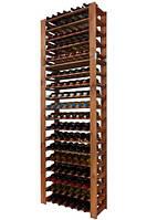 Винная полка деревянная RW-5-4 для 126 бутылок, фото 1