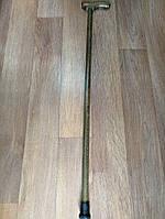 Палиця  дерев'яна (бук), з дерев'яною фігурною ручкою