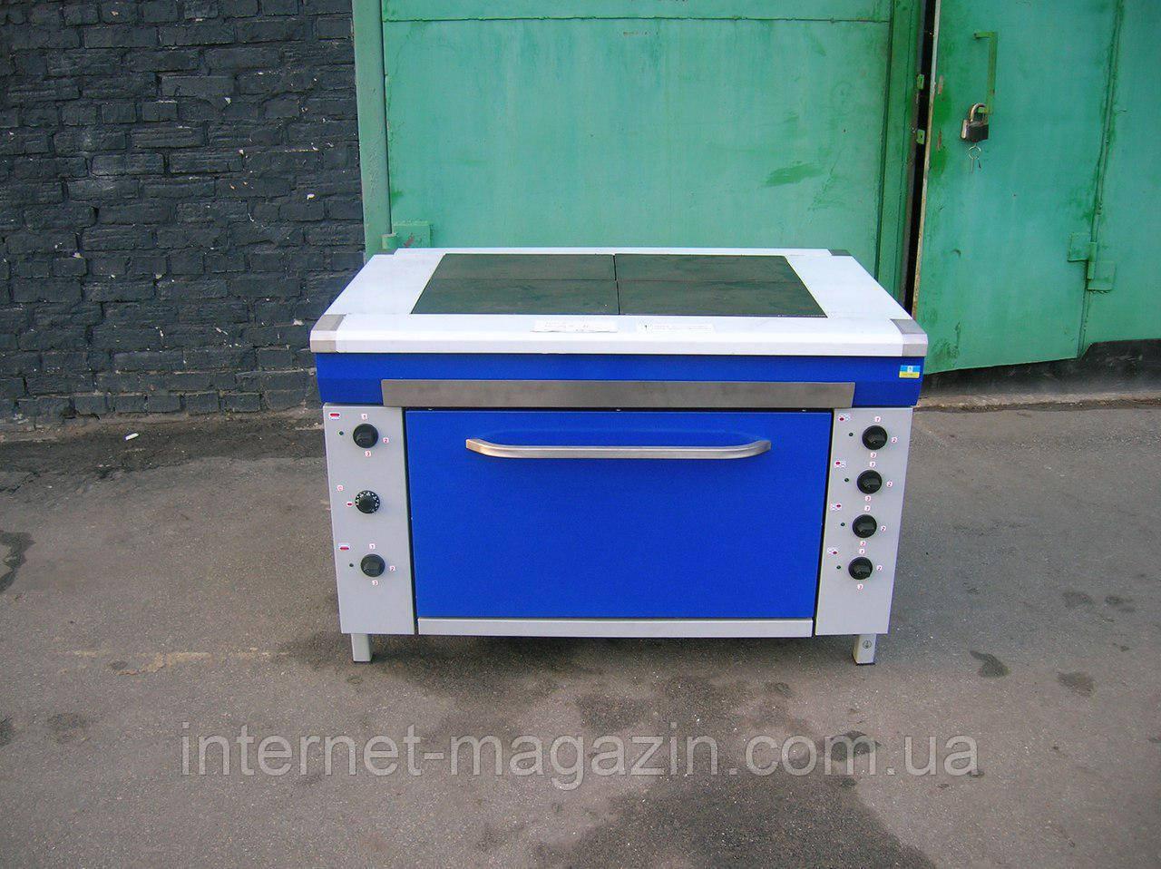 Плита электрическая кухонная со шкафом ЕПК 4Ш