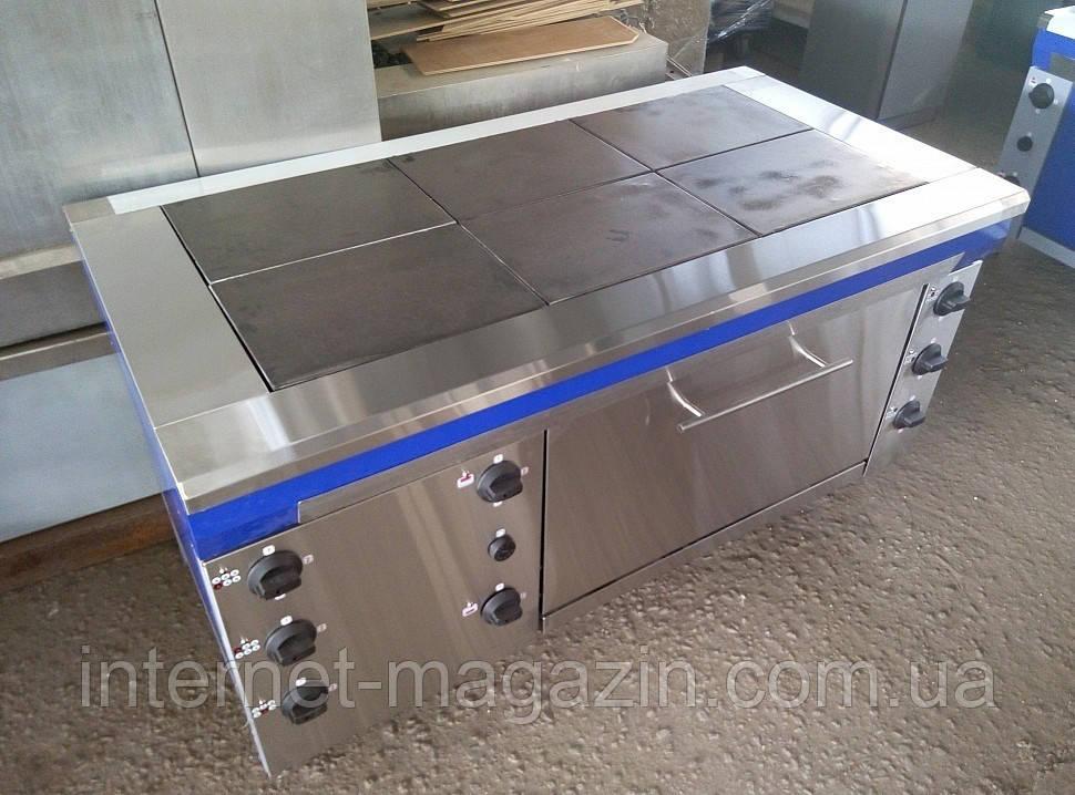 Плита электрическая промышленная со шкафом ЕПК 6