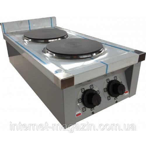 Плита электрическая кухонная настольная ЭПК-2Н эталон