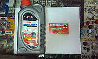 Антифриз готовый RED G12 Сoolant AXXIS 1л.