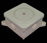 Распределительная коробка Квадрат Р2 - 2,5 кв большой с клеммой