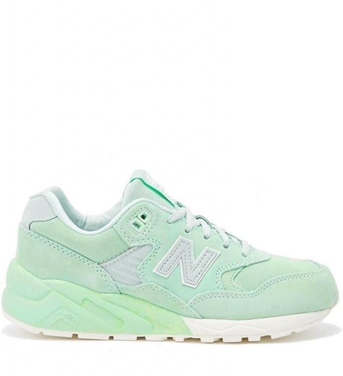 d01e7e9db Кроссовки женские New Balance 580 Mint Green Trainers (в стиле нью бэлэнс)