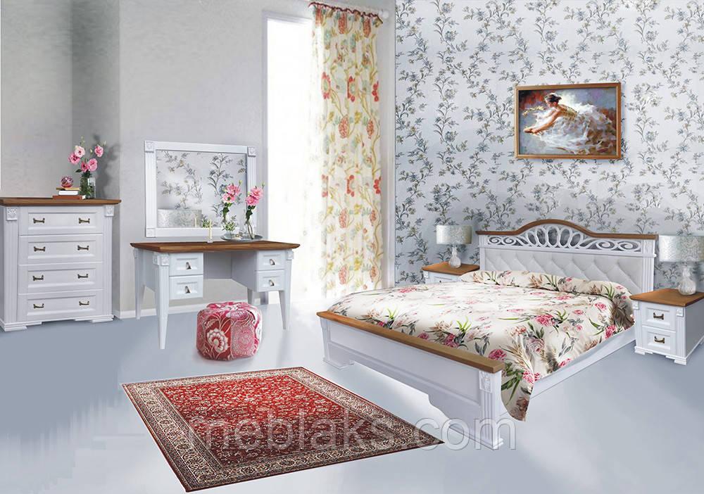 """Деревянная кровать """"Беатрис"""" (массив ясеня)  Driv Line"""