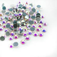 Стразы клеевые (термостразы) HotFix SS40 Crystal AB, упаковка 144 шт