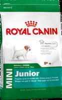 Royal Canin MINI JUNIOR 4кг для щенков в возрасте до 10 месяцев