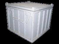 контейнер транспортный КТРО-1,5 для отходов (ТРО) I группы
