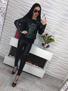 Женская куртка экокожа DB-5646