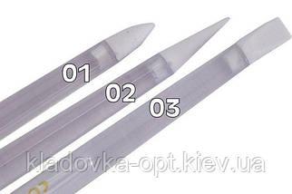 Набор силиконовых кисточек для лепки и моделирования 3 шт.
