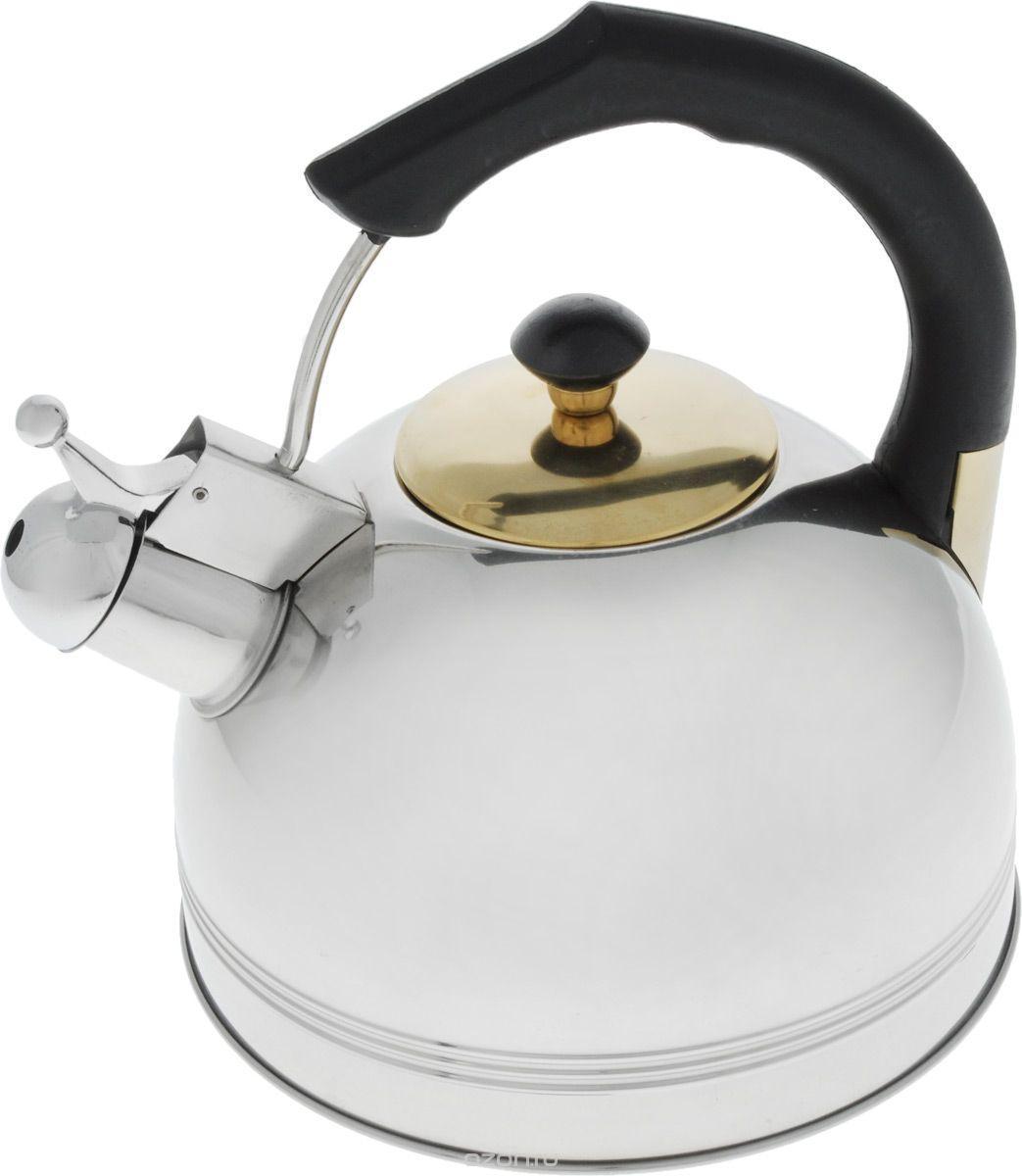 Чайник со свистком 3 л Bohmann BHL-655BK