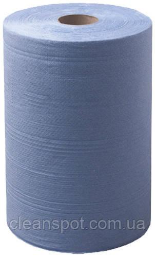 Протирка бумажная голубая 300м 2шар 1000 отрывов Eco Point