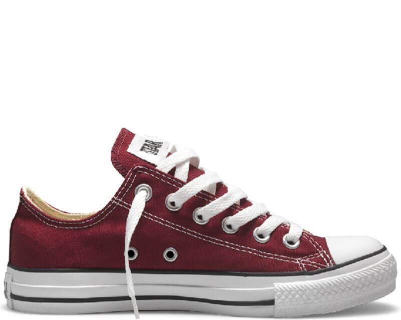 """Кеды Converse All Star Chuck Taylor Low """"Bordo"""". Кеды Converse в бордовом цвете. Высокие кеды converse."""