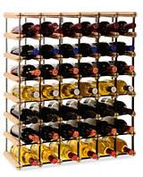 Винная полка RW-8 6x7 для 42 бутылок, фото 1