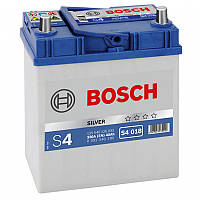 Аккумулятор BOSCH 6СТ-40A/ч 330 А АЗИЯ ЕВРО  (S4018) тонкая клема
