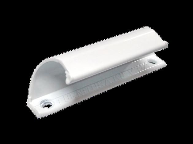 Ручка балконная белая, фото 2