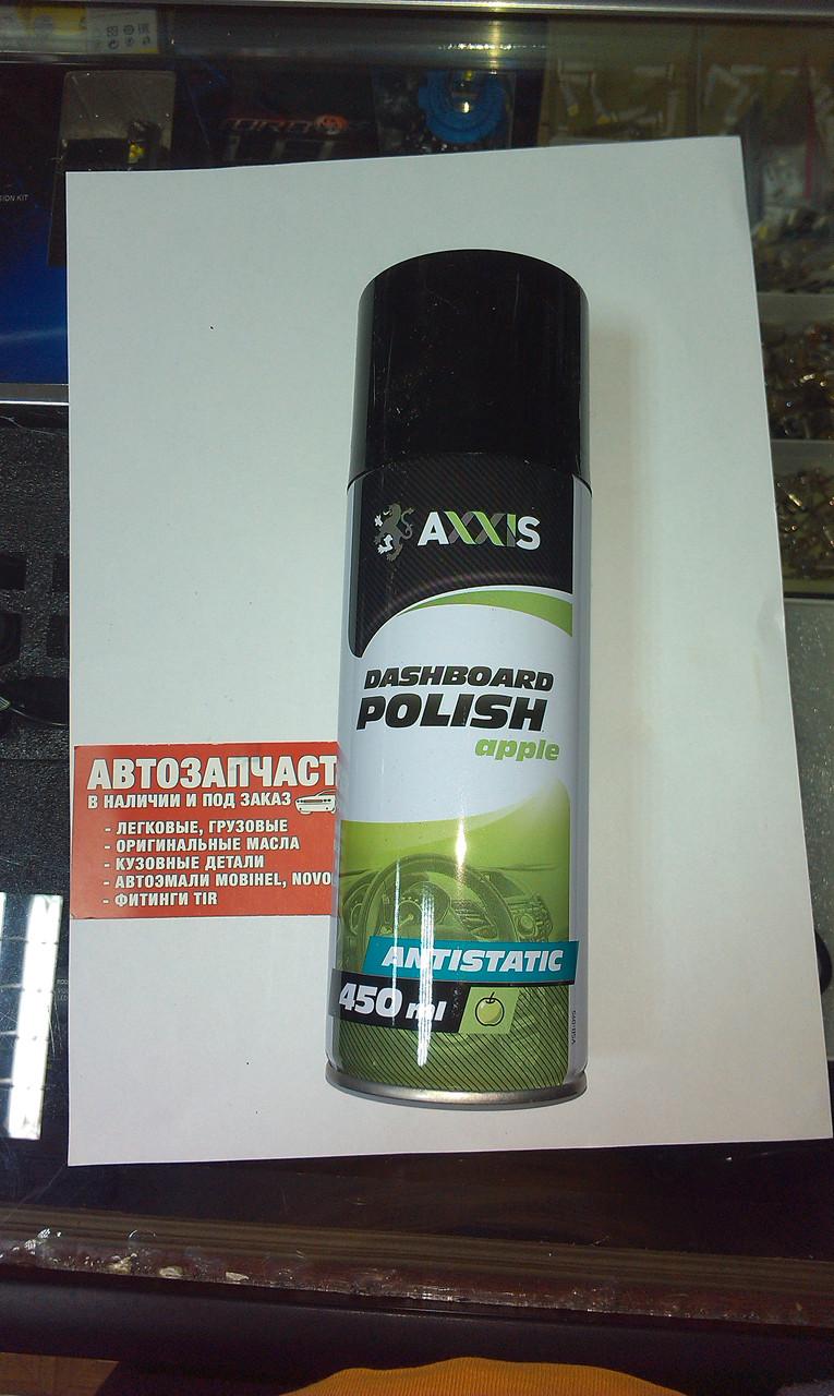 Полироль пластика ЯБЛОКО 450ml AXXIS