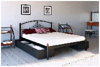 Кровать Кассандра Металл Дизайн