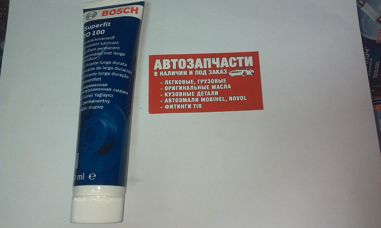 Смазка для тормозных систем BOSCH SUPERFIT 100мл