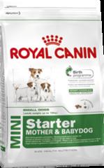 Royal Canin MINI STARTER 3кг  для щенков в возрасте до 2-х месяцев, беременных и кормящих сук