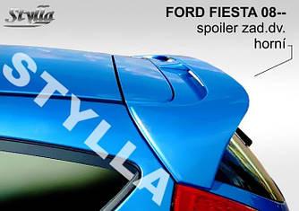 Спойлер козырек тюнинг Ford Fiesta mk7