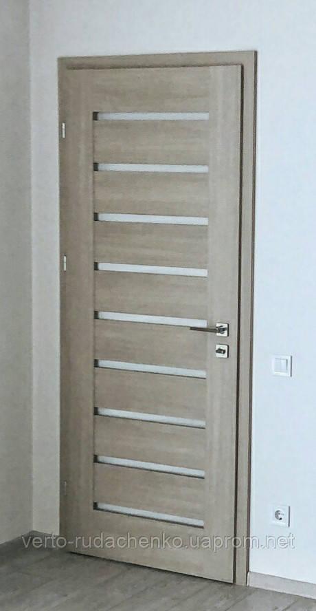 Двери Verto Лада-Нова 4.9 цвет Кора пепельная «Verto LINE-3D»