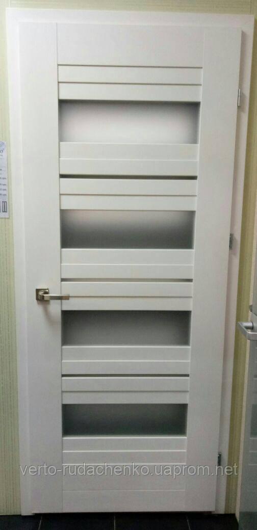 Двери Verto Лада 5.4 цвет Кора белая «Verto LINE-3D»